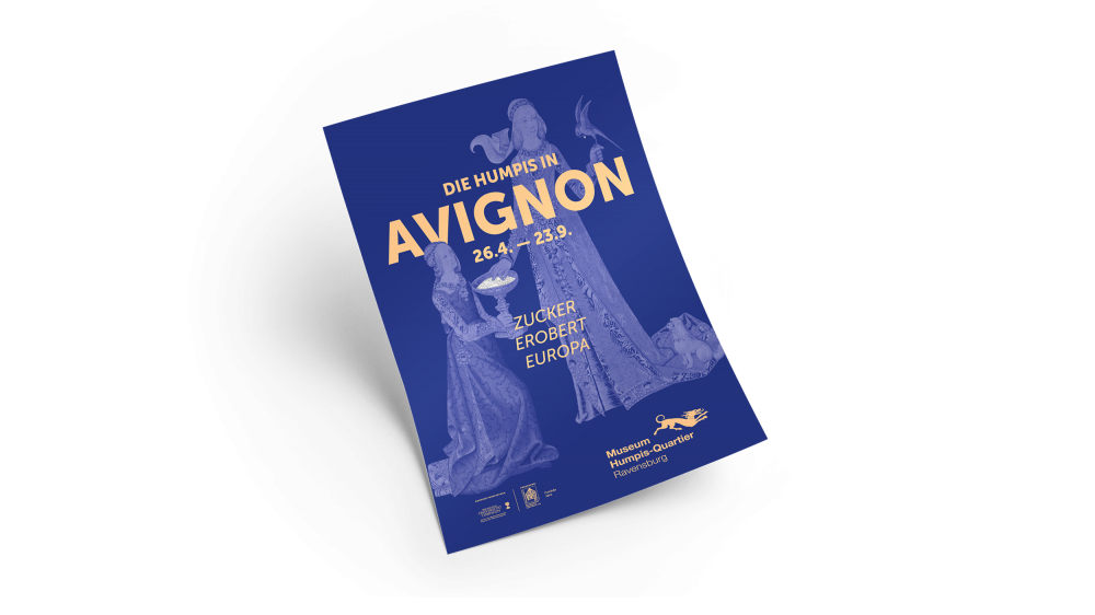 Humpis in Avignon – Grafik